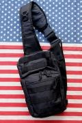 ミリタリーショルダーバッグ B55スカウトバッグ新品 収納バッグ バイクバッグ アメリカ雑貨屋 サンブリッヂ