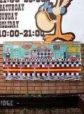 アメリカンダイナーバナー アメリカンバー コーラ看板 ダイナーバナー  ケータリングカー アメリカ雑貨通販 サンブリッヂ