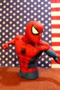 スパイダーマン貯金箱 スパイダーマンフィギュア貯金箱 スパイダーマン通販 アメリカ雑貨屋 サンブリッヂ アメリカン雑貨 通販