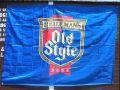 ビールメーカーバナー タペストリー  BEER フラッグ OLDSTYLEBEER オールドスタイルビール アメリカン雑貨 サンブリッヂ 通販
