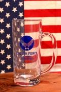 エアフォースビアグラス エアフォースジョッキ ミリタリー雑貨 USAF アメリカ雑貨屋 サンブリッヂ 通販