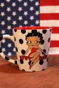 ベティーマグカップ ベティちゃんマグカップ アメリカ食器 アメリカ雑貨通販  岩手雑貨屋 ベティ通販