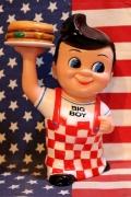 ビッグボーイソフビドール ビッグボーイ貯金箱 ビッグボーイ人形 BIGBOY通販 アメリカ雑貨通販 サンブッヂ