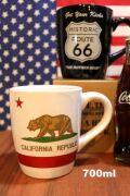 特大マグカップ ルート66マグ 大きいマグカップ アメリカ雑貨屋 カリフォルニアマグ サンブリッヂ アメリカン雑貨 通販