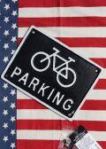 自転車看板 自転車置き場看板 アイアン看板 ダルトン看板 アメリカ雑貨屋 サンブリッヂ 看板通販