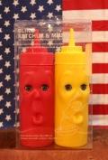 キッカーランド ブリンクケチャップ&マスタード KIKKERLAND 調味料入れ アメリカ雑貨屋 サンブリッヂ 通販