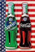 コーラ看板 コーラ栓抜き スプライト看板 スプライト栓抜き アメリカ雑貨通販 サンブリッヂ