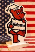 スリーピー看板 テーブルメッセージ看板 スマホスタンド カードホルダー アメリカ看板 アメリカ雑貨通販 サンブリッヂ