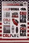 カリフォルニアステッカー CALIFORNIAステッカー ウォールステッカー アメリカ直輸入 アメリカ雑貨屋SUNBRIDGE