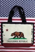 カリフォルニアトートバッグ カリフォルニアリパブリック CALIFORNIA アメリカ雑貨屋 サンブリッヂ