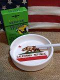 カリフォルニアラウンド灰皿 CALIFORNIAASHTRAY アメリカ雑貨 SUNBRIDGE アメリカ雑貨屋