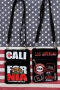 カリフォルニアポシェット ショルダーミニバッグ CALIFORNIA サコシュ アメリカ雑貨屋 サンブリッヂ
