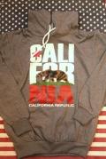 カリフォルニア裏毛パーカー CARIFORNIA REPUBLIC アメリカ直輸入 アメリカ雑貨屋 サンブリッヂ 岩手 通販