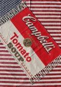 キャンベルフロアマット キャンベルマット アメリカトマト缶 アメリカ雑貨屋 SUNBRIDGE