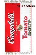 キャンベルマット リビング フロアマット ラグマット キャンベル缶 アメリカ雑貨屋 サンブリッヂ 雑貨通販 SUNBRIDGE