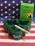 カールスバーグ灰皿 ノベルティ灰皿 プラスチック製 CARLSBERG アッシュトレイ ビール アメリカ雑貨 サンブリッヂ
