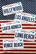 カリフォルニア 看板 ナンバープレート CMプレート  アメリカ看板 サンブリッヂ アメリカ雑貨 通販 アメリカ雑貨屋