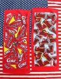 コカコーラフェイスタオル コーラタオル ビンコーラタオル 缶コーラ アメリカ雑貨屋 サンブリッヂ