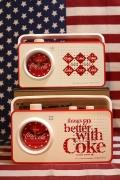コカコーラクロックラジオ アラーム付き時計 COCACOLA アウトドアラジオ アメリカ雑貨屋 サンブリッヂ