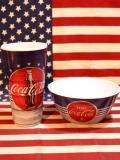 コカコーラメラミン食器 コーラタンブラー メラミンコップ コーラボウル シリアルボウル アメリカ雑貨屋 サンブリッヂ 通販