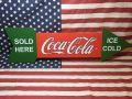 コカコーラ Coca Cola コーラ アメリカ雑貨 さんぶり サンブリッジ アロー ウッド サインボード サイン