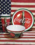 コカコーラメラミン食器 コーラ皿 コーラカップ コーラボウル アメリカ雑貨屋 サンブリッヂ