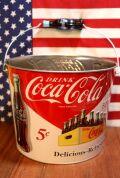 コーラバケツ ブリキバケツ コーラ アメリカン 鉢植え アメリカ雑貨 通販 アメリカ雑貨屋