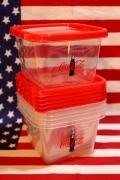 コカコーラコンテナー コーラタッパー コーラ食器 アメリカンキッチン雑貨  アメリカ雑貨屋 サンブリッヂ 通販 SUNBRIDGE