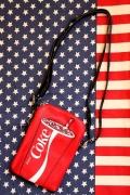 コカコーラショルダーバッグ コーラポーチ コーラバッグ アメリカ雑貨屋 サンブリッヂ コーラグッズ通販