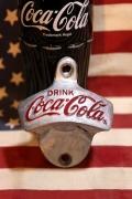 コカコーラオープナー 壁付け栓抜き アメリカ雑貨屋 サンブリッヂ