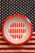 コカコーラプレート メラミンボウル メラミン皿 ポップコーンボウル COCACOLA アメリカ雑貨屋 SUNBRIDGE サンブリッヂ 通販