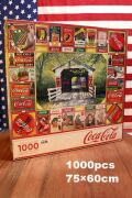 コーラパズル 1000ピース パズル コーラ看板  アメリカ雑貨 通販 アメリカ雑貨屋 サンブリッヂ