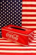 コーラティッシュケース コカコーラティッシュボックス アメリカン雑貨インテリア アメリカ雑貨屋 サンブリッヂ 雑貨通販