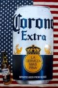 コロナ看板 コロナビール看板 缶コロナ看板 缶コロナビール アメリカ雑貨屋 サンブリッヂ ビール看板通販
