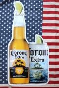 コロナ看板 コロナビール看板 ビンコロナ看板 アメリカ雑貨屋 サンブリッヂ ビール看板通販