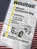 アメリカゴミ袋 廃棄物ゴミ袋 布団収納 キャンプ収納 ホールテール織砂袋 アメリカ雑貨屋 サンブリッヂ