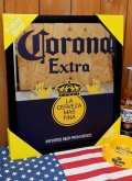 コロナパブミラー コロナミラー コロナビール 鏡 アメリカ雑貨屋 サンブリッヂ アメリカン雑貨通販