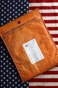 クラフトバッグ 雑誌入れバッグ クラフト雑誌入れ アメリカ郵便局 アメリカ雑貨通販 サンブリッヂ