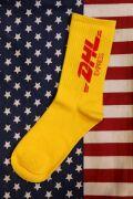 DHL  靴下 ソックス 国際宅配企業 アメリカ企業  アメリカ アメリカ雑貨 通販 サンブリッヂ