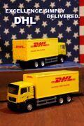 DHL ミニカー トラック ポストバン ベンツ  アメリカ アメリカ雑貨 通販 サンブリッヂ