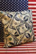 ドルクッション $ クッションカバー 通販 アメリカ雑貨屋   サンブリッヂ アメリカン雑貨通販