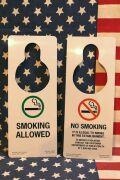 ドアサイン アメリカ看板 喫煙禁煙看板 ホテル看板 寝室 アメリカ雑貨屋 サンブリッヂ 看板通販