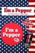 ドクタペッパーステッカー マウスパット マグネット 栓抜き Dr.Pepper アメリカ雑貨屋 サンブリッヂ 雑貨 SUNBRIDGE