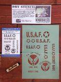 ドライステンシル DRY STENCIL スタンプ シート オリジナル アメリカ雑貨 STENCIL 通販 サンブリッジ 岩手 雑貨 USAF
