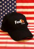 フェデックス帽子 フェデックスキャップ FedEx Express アメリカ雑貨通販 サンブリッヂ