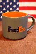 フェデックスマグカップ カンパニーマグ Fedex  企業マグ 運送会社グッズ アメリカ雑貨屋 サンブリッヂ 看板通販