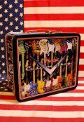 フェンダーランチボックス フェンダー ブリキバッグ ロック CD入れ CDケース  アメリカ雑貨 通販 アメリカン雑貨 サンブリッヂ