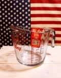 ファイヤーキング計量カップ1L 耐熱ガラス ダルトンメジャーカップ アメリカ雑貨屋 サンブリッヂ 通販商品