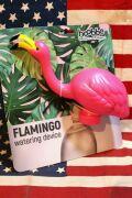 フラミンゴウォータリングキャップ ペットボトル水差し ペットボトルジョーロ アメリカ雑貨屋 サンブリッヂ ガーデニング雑貨通販