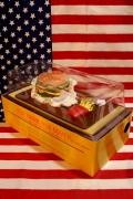 ハンバーガーティッシュケース マクドナルドティッシュカバー おもしろテュッシュケース アメリカ雑貨屋 サンブリッヂ 通販
